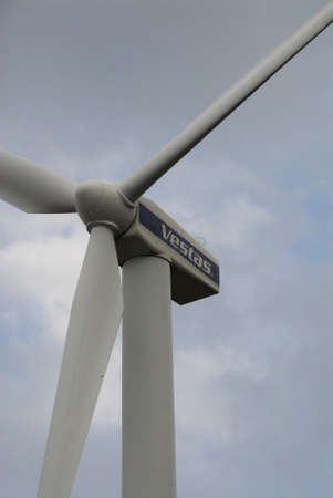 vestas: COPENHAGENDENMARK_ Vestas turbine cobver bella center engery and power           07 November  2014
