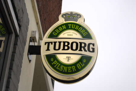 carlsberg: COPENHAGENDENMARK_Denmarks 2nd most famous tuborg beer now own by carlsberg in past was green tuborg has own brewerry and it is own by sister compnay  it is famosu by the gron tuborg            13 November  2014 Editorial