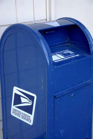 Lewiston . Idaho state. USA_USA mail box  united states postal service              22 December   2014.