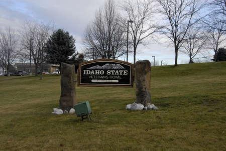 idaho state: Lewiston . Idaho state. USA_Idaho state veterans home in valley                26 December   2014.