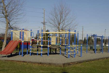children playground: Burkley. Washington state. USA  _Children playground             01 January   2015 Editorial