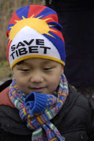 Copenhagen-Denamrk_Tibetian community live in Denmark they staged pro Dalai Lama dance rally and danes are willing to meet him standing in line to hear him today in Bella Center, though danish government will not meet him during his saty in Copenhagen