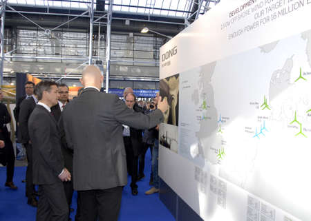 bella: Copenhagen-Denamrk ,  10 March  2015_  H.R.H.Crown prince Frederik opens offically EWEA Offshore organistation 2015 at bella cecnter today on tuesday among guests are Danish minister for foreign affairs Martin Lidegaard ,minister for climate and energy Ra