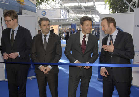 prince of denmark: Copenhagen-Denamrk ,  10 March  2015_  H.R.H.Crown prince Frederik opens offically EWEA Offshore organistation 2015 at bella cebter today on tuesday among guests are Danish minister for foreign affairs Martin Ledegaard ,minister for climate and energy Ras