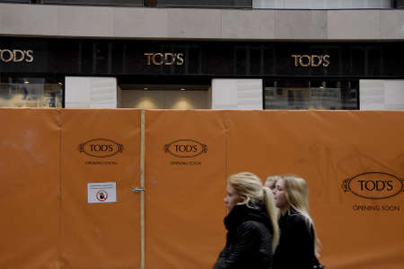 sain: KASTRUP COPENHAGENDENMARK. 24 March 2015 _Employment go much better among young regarding to new report  and go much better for danish economy too and ther are new luxury stores making way to Copenhagen like Tods and others