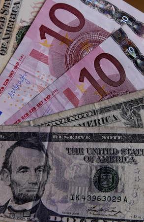 world economy: Kastrup.Copenhagen.Denamrk     _World economy usa dolars vers euros currency on world stage             27 March 2015 Editorial