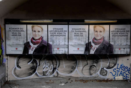 strong message: .Copenhagen.Denamrk _28 March 2015_ Ms.Helle Thorning-Schmidt danish prime minister and leader of danish social democrat political party with strong message to Immigrants and refugees those have not foud  workd,message here you need to work if you want to