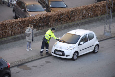 francis joseph dean: .Copenhagen.Denamrk _17 April 2015_ Inpector gives parking ticket and getting agrument with female on kastruplundgade in kastrup early morning on f riday