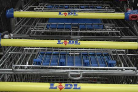 francis joseph dean: HillerodHiller�d Denamrk _29 april 2015_  German Lidl food chain sueprmarket in Copenhagen