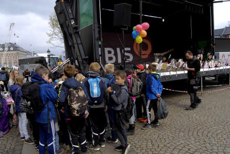 ngo: COPENHAGENDENMARK. 30 April 2015  _Stop child labour work  is arranged children Action day by the IBIS  danish ngo the event takes place infron the Danish aparliament christiansborg  today