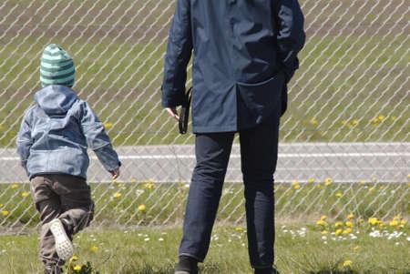 francis dean: Copenhagen Denamrk _03 May 2015_ Family father and child
