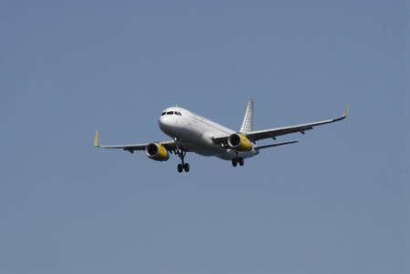 Kastrup.Copenhagen.Denamrk    03 May  2015 _Vueling.com flight make ladning at Copenhagen Interntional Airport i Kastrup today o su day