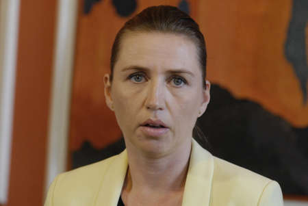 high light: Copenhagen Denamrk _06 May 2015_  Ms.Mette Frederiksen minister for law and order r justic minister high light the police assesment report about terrorest attached in  cape and syngague