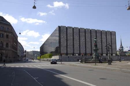 francis dean: Copenhagen Denamrk _14 May 2015_  Building of danish natrional or national bank of Denmark Editorial