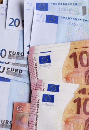 francis dean: Copenhagen Denamrk _19 May 2015_Euro currency in paper money
