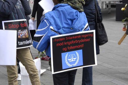 francis joseph dean: Copenhagen Denamrk _18 May 2015_  Tamil Eelam immigrants living in Denmark staged ptoest march against Sri Lanka government  stop genocide protesters marched from Palrimane to Copenhagen city hall today on monday