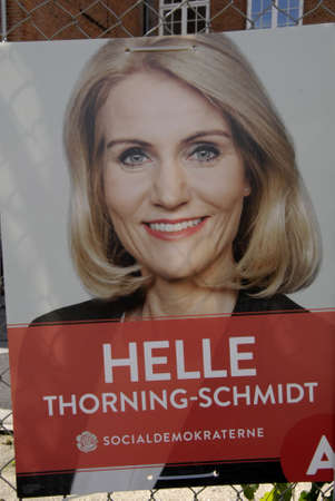 the prime minister: COPENAHGEN DENAMRK 31 May 2015_ Ms.Helle Thorning-Schmidt danish prime minister  Meets her Consituents for her relections campaign at Amager center today on sunday Editorial