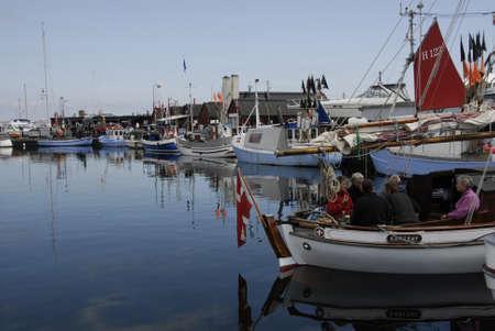 habour: DRAGORCOPENAHGEN DENMARK 21 June  2015_ Sailor life at Dragor fishing habour and tourism at dragor habour
