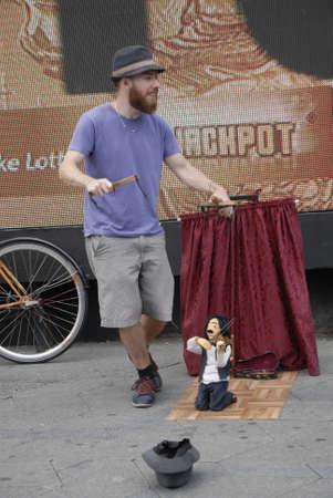 entertainers: CopenhagenDenmark    Male street puppet entertainer Copenhagen            11 July 2015