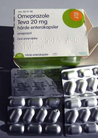 17 20: CopenhagenDenmark 17 July 2015_Omeprazole Teva 20 mg  ( h�rde enterokapsler) medicne
