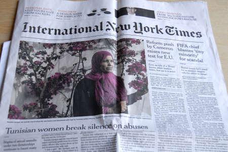 new york times: Kastrup.Copenhagen.Denmark  24 July  2015  _International New York Times daily Editorial