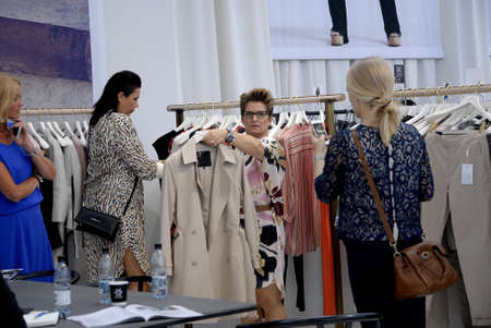 annually: CopenhagenDenmark 06 August  2015_  Shoppe at CIFF Copenhaen Interntional Fashion Fair 2015 danes export annually danish fasion and textile to scandinavian countries and  Germany