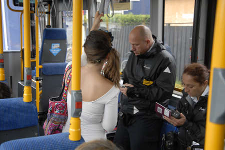 shere: CopenhagenDenmark 11 August  2015_  Two danish bus controllers giving ticket fine to Swedeish woman due to she forget renew her bus ticket she said she moved from sweden just 2 days dago and she ins earch for copenhagen council shere she can have danish