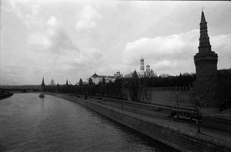 palacio ruso: COPENHAGUE, DINAMARCA. (Im�genes de archivo 1988 Mosc�, Rusia) r�o Mosc� m�s vista loked Krelmlin palacio oficial ruso