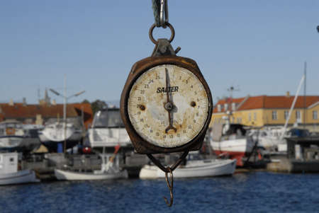 net trade: DragorCopenhagenDenmark 11th October  2015_Satudays life at Drgaor fishing habour and first danish felame fisherwoman at dragor  habour Editorial