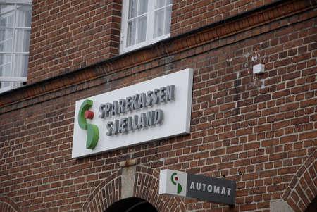 automat: DragorCopenhagenDenmark _ 13 March  2016_ Sparekassen Sjaelland bank Editorial