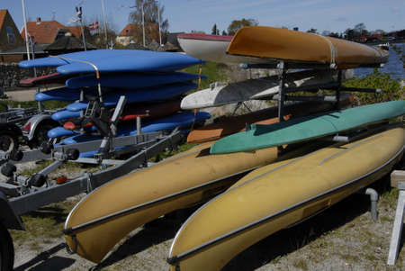 small town life: DRAGORDRAGOER.Denmark 22 April  2016 _Daily life at small town Dragor sport boats, fishing boats and life at fishing habor 12 miles from danish capital Copenhagen   .