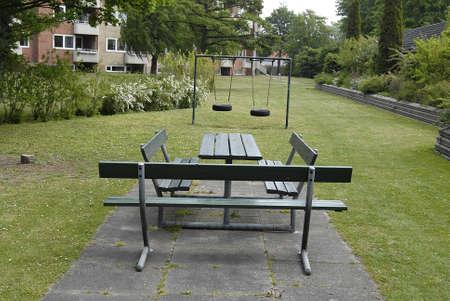 play ground: Copenhagen  Denmark. 20 May 2016_Childean play ground Editorial