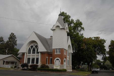 Lewiston Idaho USA- 16 June 2016_   Ecclesia church in Lewiston, Idaho, USA