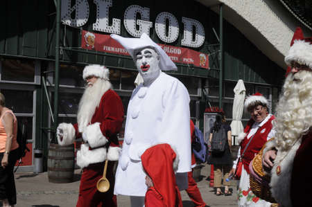 christma: Bakken Klempenborg Copenhagen_Denmark_  20 July 2016-2nd.day of Santas from worlwide including United States and Uk and Japan and europan countries gether 3 days International Santa convention (congress) at Bakken Klempenborg Copenhagen Denmark .