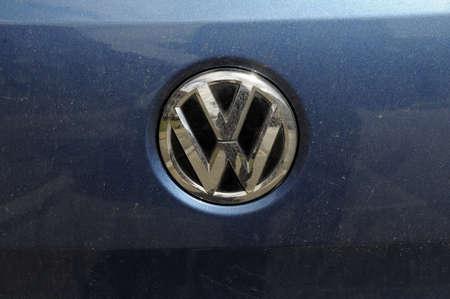 vw: Copenhagen_Denmark_  28 July 2016- German VW auato