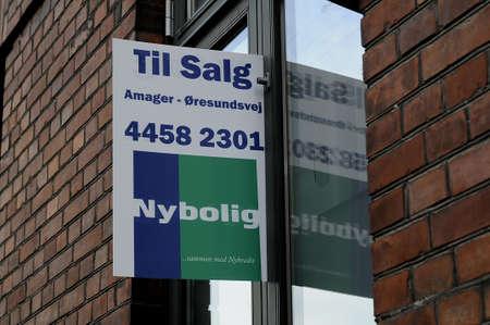 home buying: Copenhagen_Denmark_  06 August  2016-Home sale  danish home buying and saling economy