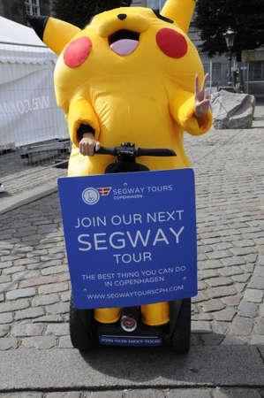 segway: 19 August  2016-Join our next segway tour   in Copenhagen  Denmark  Editorial