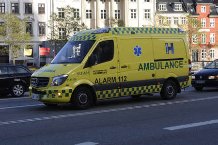 payer: Copenhagen  Denmark_ 27th October 2016 _Danish medical ambulance  and alam 112 medical ambulance free of cost all is paid by danish tax payer   .