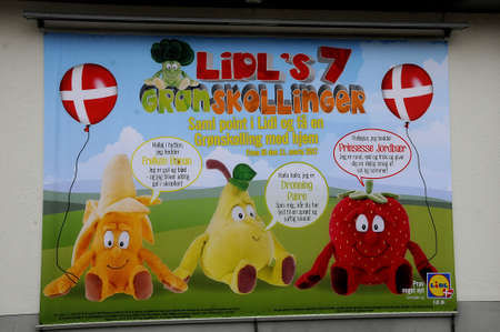 food chain: Copenhagen  Denmark_  23.January 2017 -  German Lidl food chain in Herlev