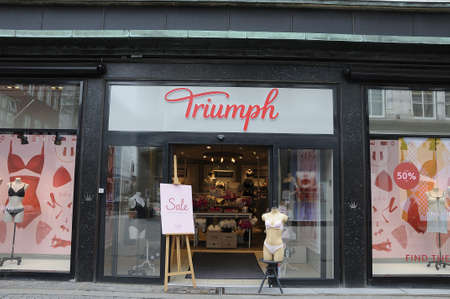 even: Copenhagen Denmark - 14 June 2017.  _Sale on various retail store even 60% discount sale .