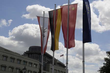 BERLINGERMANY 03July  2017.    United States Embassy in Berlin Germany-