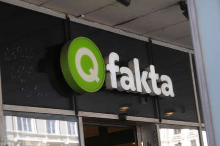 fakta: Copenhagen Denmark - 28.july  2017.    Q fakta grocery store.