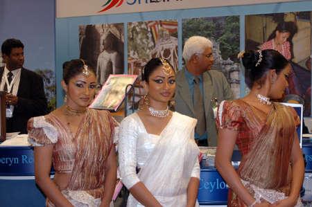 dean Pictures: Sri Lanka airline dancers preforming cyelon national dancee at Goeteborg  Tur 2006 -Travel fair 2006Goteborg Sweden March 23,2006