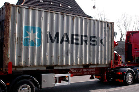 DANISH SHIPPING MAERSK CONTAINER