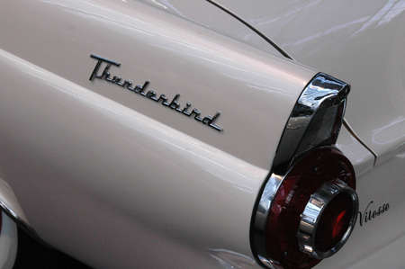 THUNDERBIRD American car at,Auto Fair Copenhagen 2006 in Bella Center Copenhagen Denmark March 17,2006 Editorial
