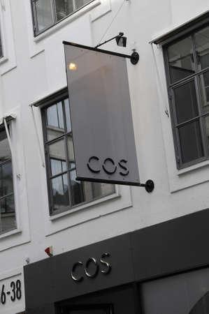 Copenhagen Denmark - 18 .September. 2017.  COS moved in news address on stroeget.