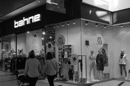 Copenhagen Denmark - 17 .September. 2017.   50 Years of Bahne magazine store.