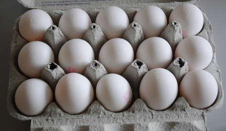카스트 러프  코펜하겐  덴마크 -31 31. 10 월 2017. 식료품 점에서 덴마크어 달걀입니다. . 스톡 콘텐츠