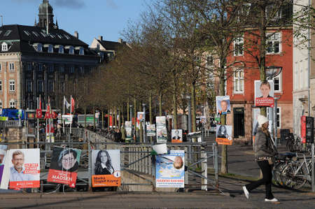 adn: Copenhagen Denmark - 13 November  2017.   Danish young and futre generation is actvie in this comming City Hall council elections, all danish political parties have given place to men adn female place and joing political force for better Denmark  they wi