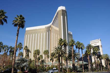 Las Vegas, Nevada, USA 15 December  2017.    Four seasons mandalay bay hotel on las vegs boulvarde las vegas.